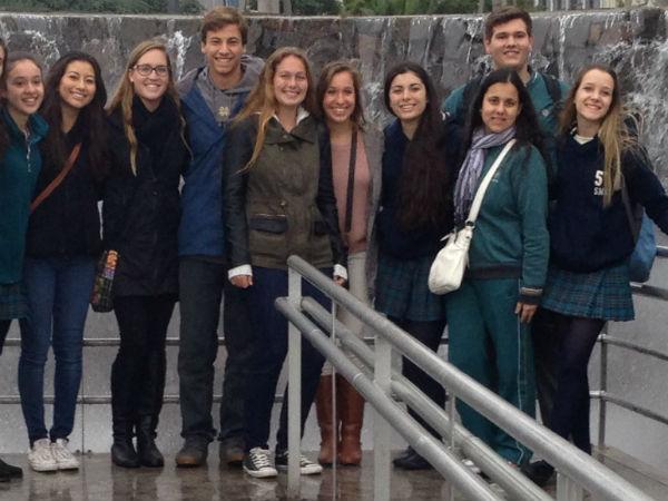 CCHS students visit Argentina, have