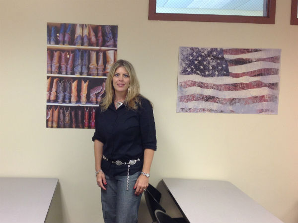Military wife and mother Mrs. Cindy Keller joins math department