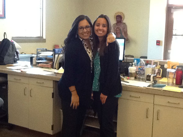 Mrs. Rogers and Ms. Nunes maintain 28-year friendship