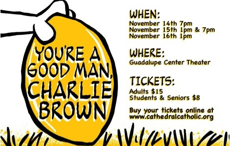 "Fall play ""You're a Good Man, Charlie Brown"" offers message of hope"
