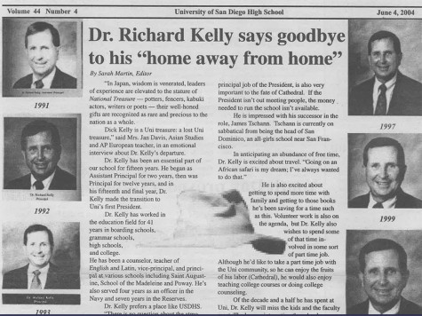 El Cid 6/4/04 - Dr. Richard Kelly leaves