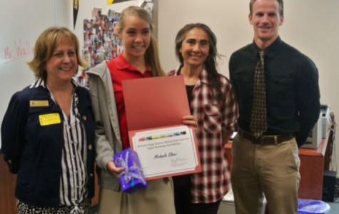 Senior Michaela Elmer wins SDSA High Tech Fair award