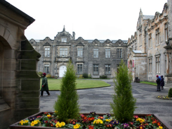 The University of St. Andrew's in Scotland