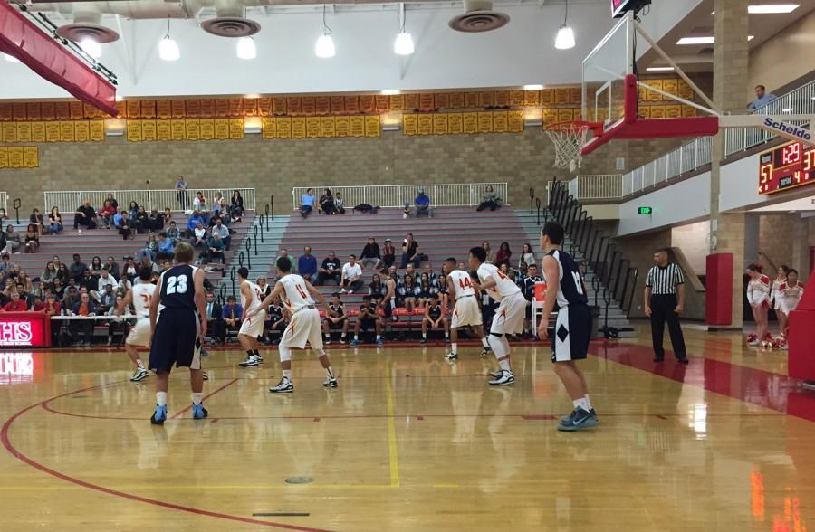 Here, the Dons faced the University City Centurions on February 6th