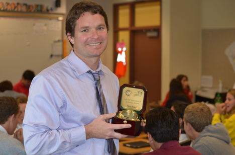 Mr. Baier continues empowering teachers with new job