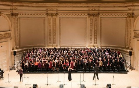 Three CCHS students perform in choir at Carnegie Hall