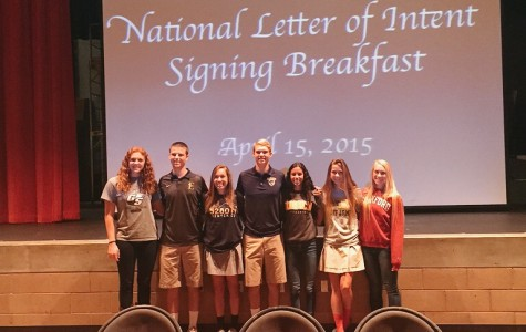 "Seven student athletes sign letters of intent, excited for ""new experience"""