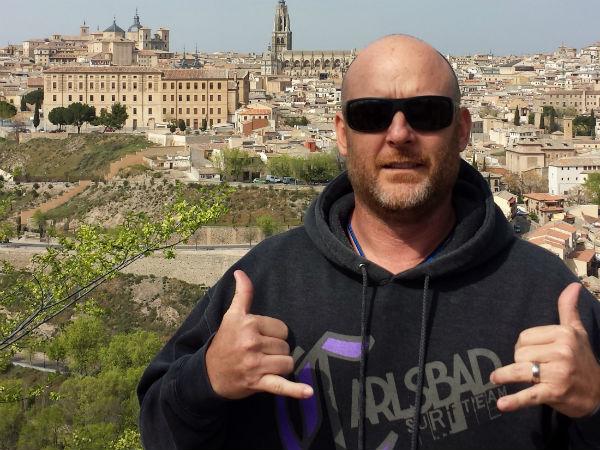 Mr. Chris Greene visited Toledo, Spain.