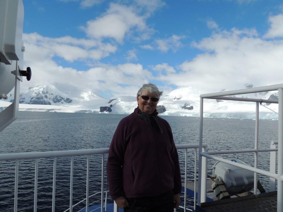 Mrs. Fleming in Antarctica
