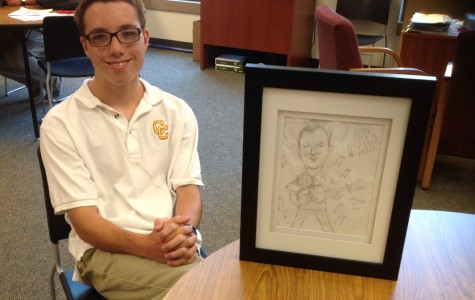 """Cartoonist legacy continues within Breen family, son draws """"to help people"""""""