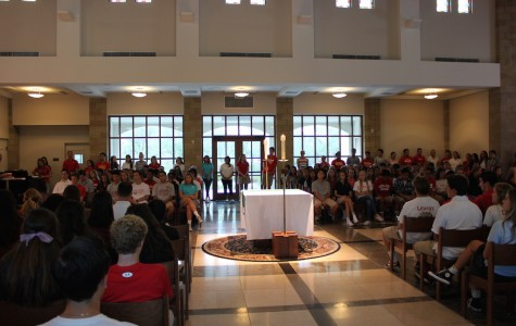 CCHS students pack St. Therese Chapel to remember Zolina and Sept. 11 victims