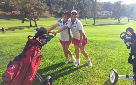 Girls Varsity B Golf team prepares physically, and mentally, for their season