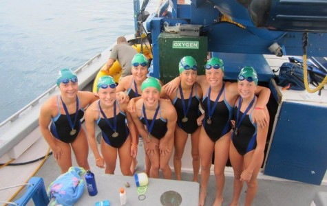 Sophomore Mia Thomas one of the youngest to swim Catalina Channel