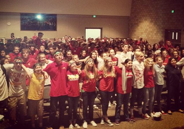 Freshman retreat helps students build community and grow in their faith