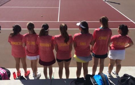 Lady Dons Varsity tennis team kicks off the season with a spirited mindset