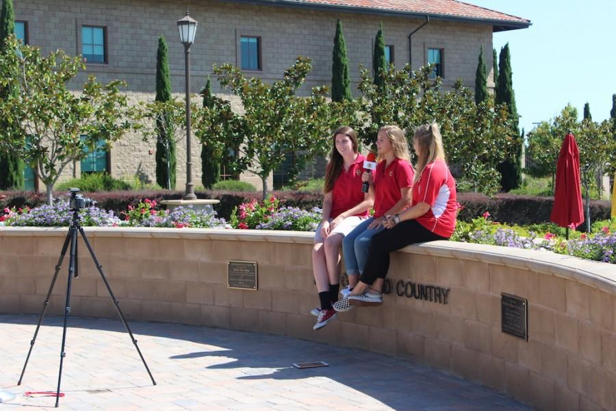 Delany Grazier and Niamh Nelson film CCTV for the week of Oct. 9.