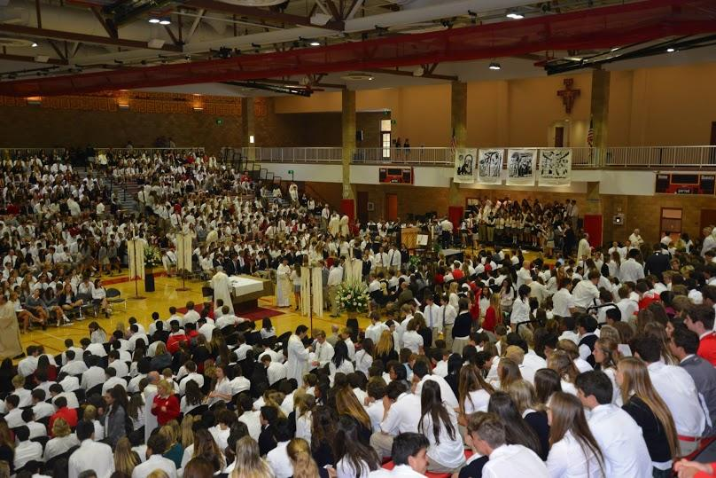 CCHS students are called upon to serve Christ much like St. Charles Borromeo.