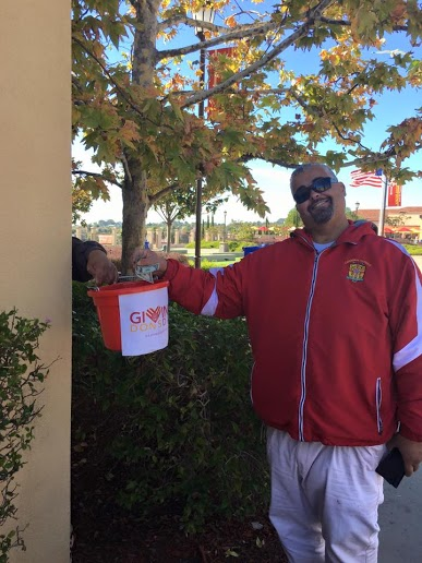 The CCHS community exceeded expectations by raising more than $25,000 during the recent Giving Dons Day fundraiser. Who could say no to CCHS security guard/teddy bear Steve Duarte, anyways?