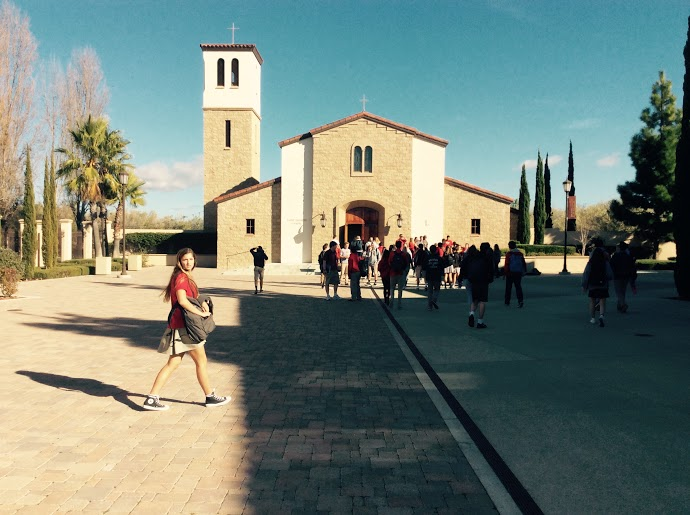 St. Thérèse chapel offers a place for students to express their spirituality.