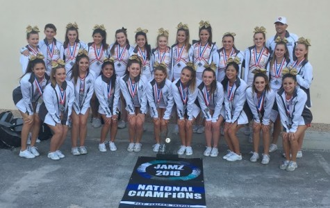 Victory in Las Vegas for CCHS cheer team