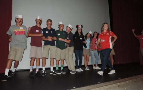 Freshmen stand tall with God at retreat