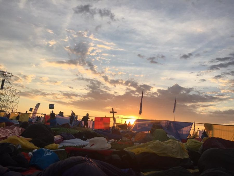 As the sun rose over Kraków, Poland, youth groups from across the globe reflected on the glory of God in nature.