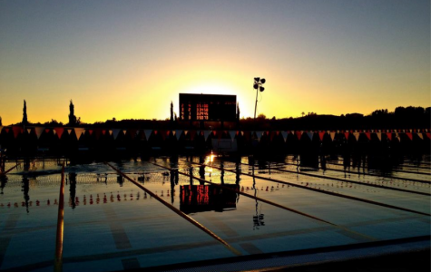 As the sun sets over the Leonard/Waitt Family Pool, Cathedral Catholic athletes look ahead to the 2020 Tokyo Olympics, thus allowing the Rio scandals to fade into the past.