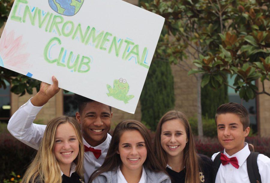 Katie Vandeventer '17, Zach Green '17, Lexi Bone '17, Devon Hansen '17, and Jared Nunes '17 promote environmental solutions within the coastal communities.