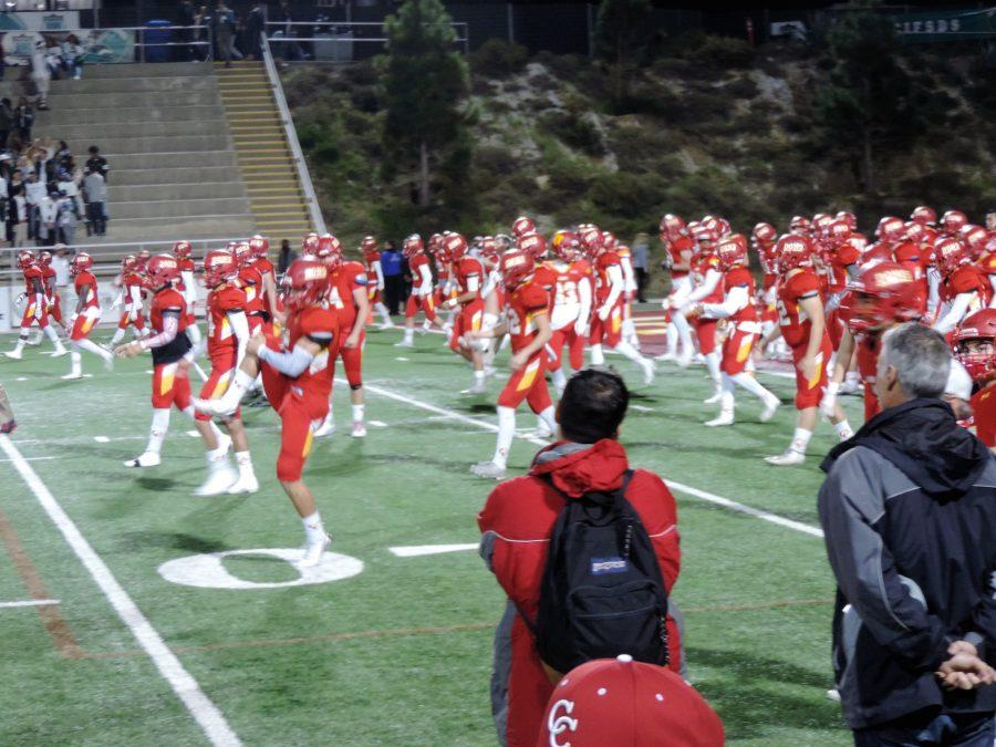 The Dons warm up at Southwestern College before winning a tough game against the Helix Highlanders.