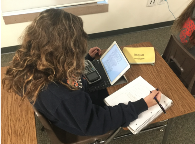 As more and more schools move toward digital-based textbooks and curriculum instead of traditional paper and pencil-based learning, students like Cathedral Catholic High School student Payton Straub '17 find themselves struggling to decide which method works best for them.