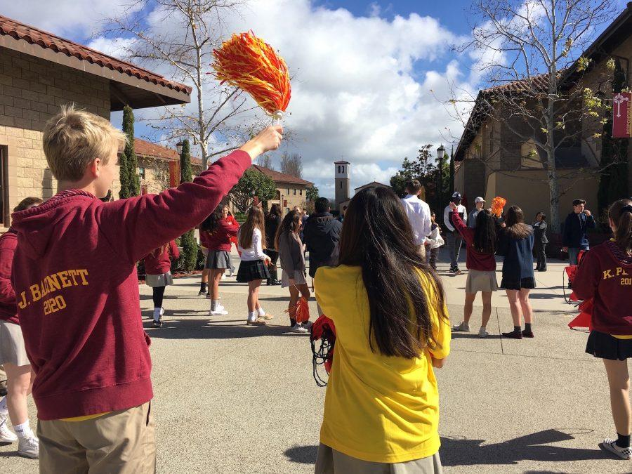 With added flair and enthusiasm, ASB and Ambassadors dished out backpacks, donuts, and juice to prospective Dons finishing the High School Placement Test.