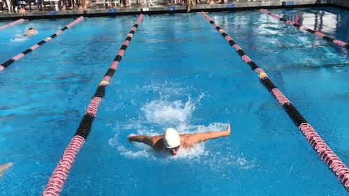 CCHS swim teams race in their first meet of the season last week at La Jolla High School.