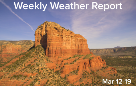 Weekly Weather Report March 12, 2017 – March 19, 2017