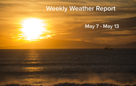 Weekly Weather Report May 9, 2017 – May 13, 2017