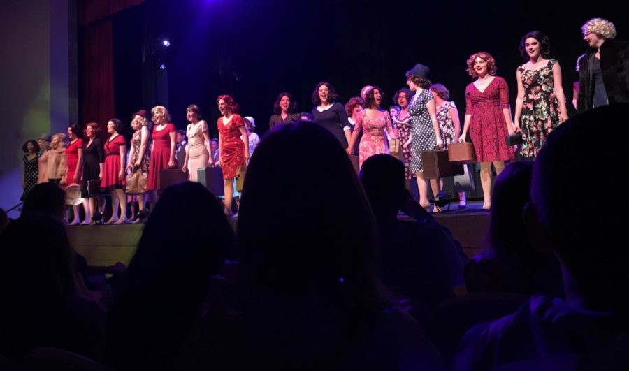 The CCHS drama department performs its first showing of the hit musical 42nd Street, which highlights the talents of not only the lead cast members, but also the tap dancing ensemble.