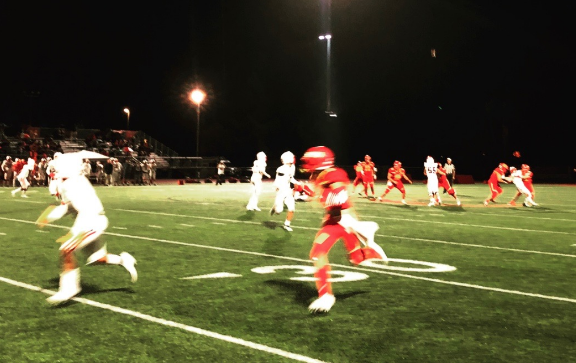 The Dons fought hard on Friday night before the game was cancelled due to the lightening. Cathedral Catholic High School came out on top with a final score of 21-0. The team will continue to practice hard this week to prepare for its next game against Lincoln High School.
