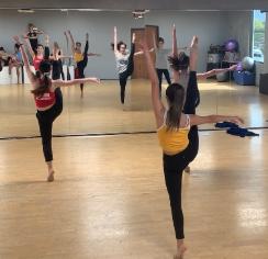 """Cathedral Catholic High School's dance team spent 20 hours rehearsing for last Saturday's annual winter concert, which is themed """"A Very Merry Christmas."""""""