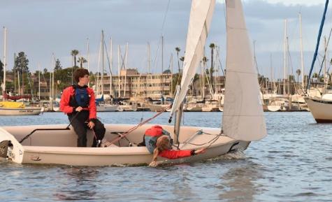 Co-ed sailing