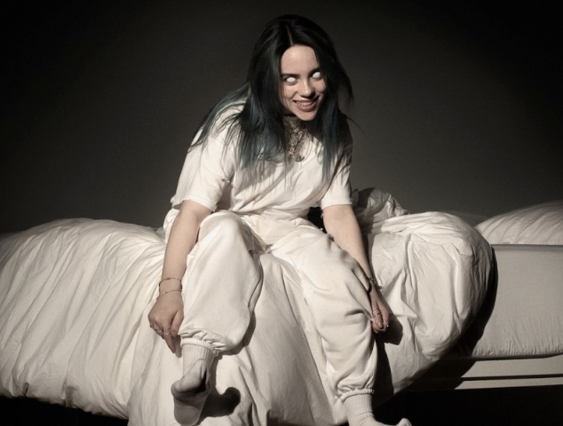 Billie+Eilish%E2%80%99s+recently+released+album+cover+previews+and+hints+to+the+eerie+tone+of+her+debut+album.%0A