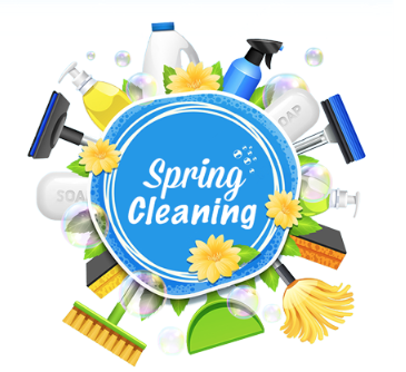 Spring cleaning is a great way to combat both physical and mental clutter.