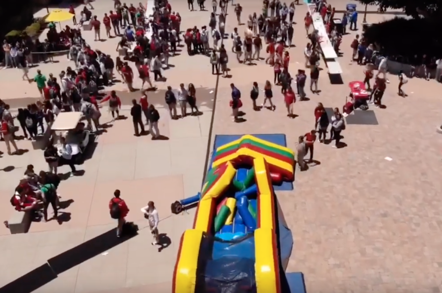 Spring carnival hits campus