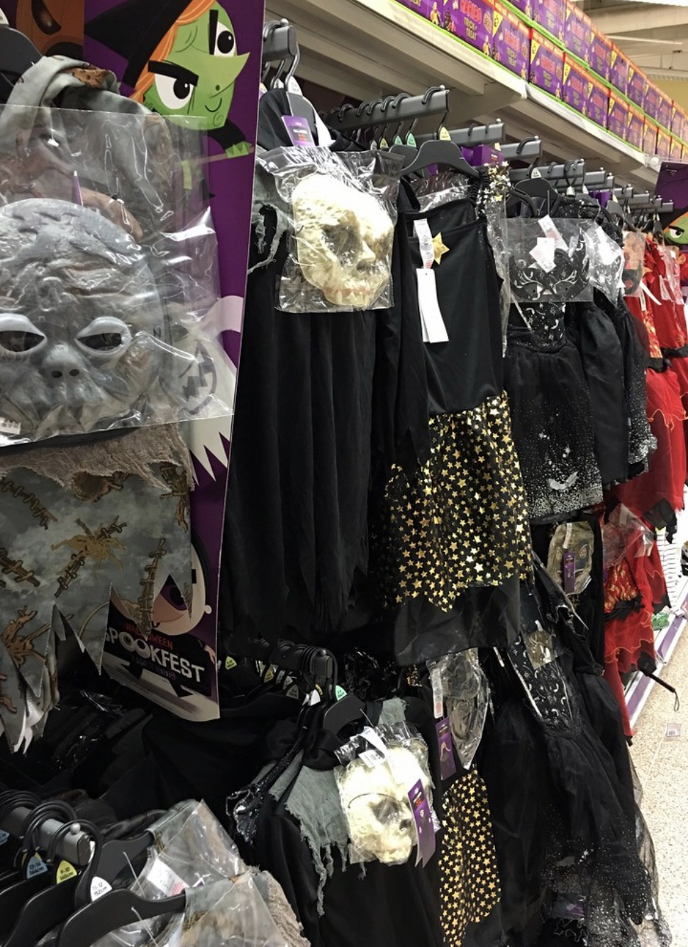 Halloween is tomorrow, and many students may struggle finding a costume for school that adheres to the dress code guidelines.